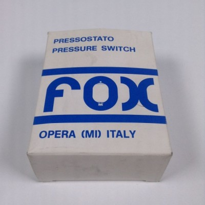 پرشر وکیوم سوئیچ 1 < 1- بار فوکس ایتالیا